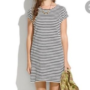 Madewell zipline stripe dress